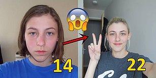 8 Yıl Boyunca Her Gün Bir Selfie Çekip Minik Değişimlerin Aslında Ne Kadar Büyük Olduğunu Gösteren Genç