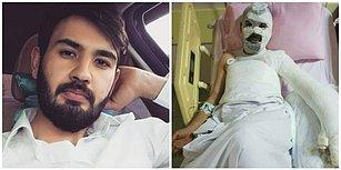 Set 'Kaza'ları Bitmiyor: TRT'nin Yeni Çekilen Dizisinde Oyuncu Feci Şekilde Yanarak Ağır Yaralandı