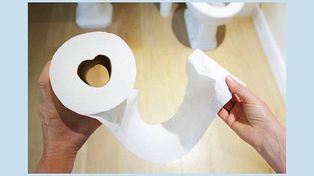 7. Tuvalet kağıdını doğru kullanmak için mutlaka önden arkaya doğru silin ve kağıt temiz çıkana kadar silmeye devam edin.