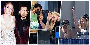 Hem Eğlenceli Hem de Komikler! Son Dönemin En Kıskanılan Troll Çifti Sophie Turner ve Joe Jonas!