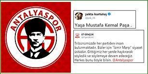 Antalyaspor Yönetiminin 'İzmir Marşı' Eleştirisine Taraftarlar ve Futbolcular Tepki Gösterdi