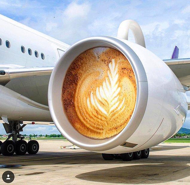 18. Latte engine.