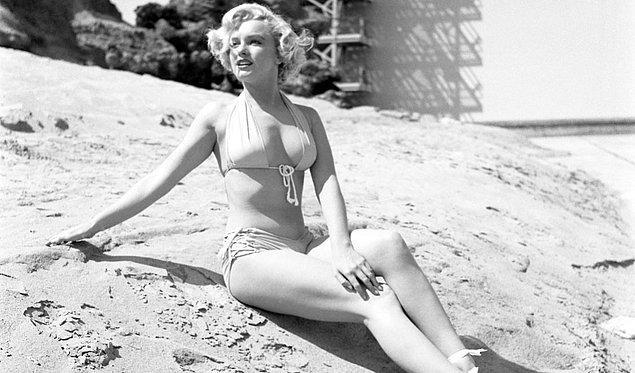 5. 1950'lere damgasını vuran Marilyn Monroe üzerinden şekillenen ideal kadın vücudu: Kum saati