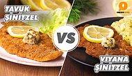 Yerli Lezzet Avrupa Lezzetine Kaşı: Tavuk Şinitzel vs Viyana Şinitzel