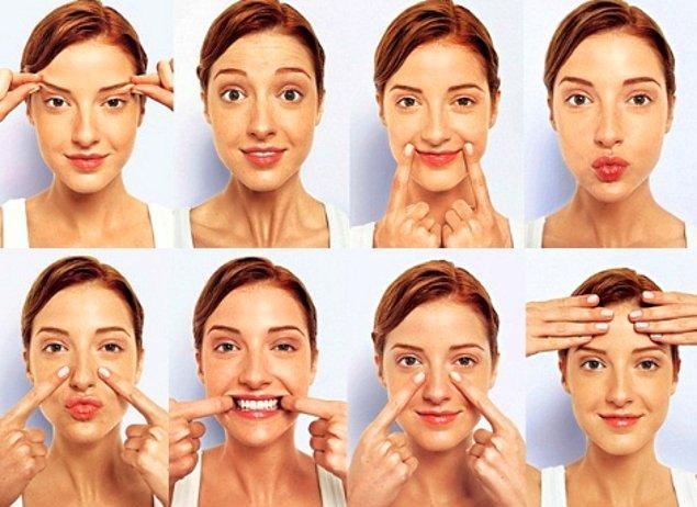 4. Yaşlanma karşıtı yüz yogası