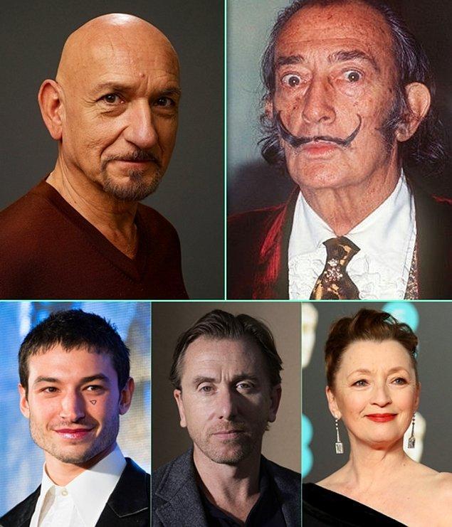 11. Salvador Dali'nin hayatı film oluyor! Mary Harron'ın yöneteceği Dali Land filminde, sürrealist ressamı Ben Kingsley canlandıracak.