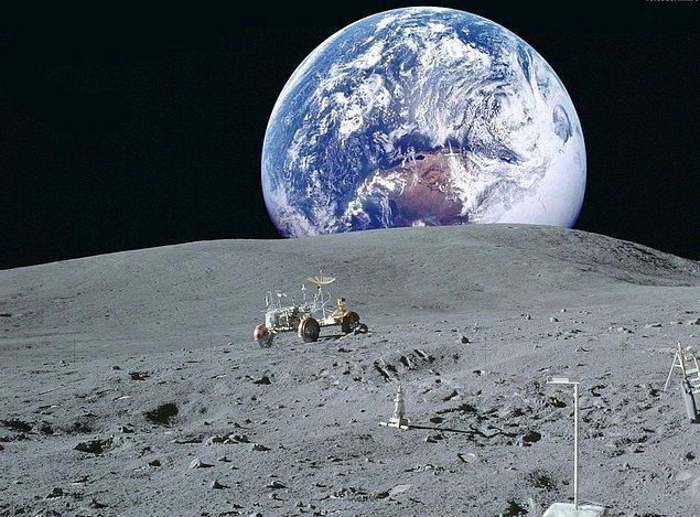 19. Ay ile Dünya arasına, Güneş Sistemi'ndeki bütün gezegenler sığabilir.