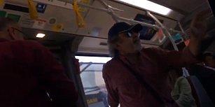 Metrobüste Öpüşenlere Müdahale Eden Yolcuya Tepki: 'Bu Çocuk Bu Kızı Dövseydi Rahatsız Olmazdın'