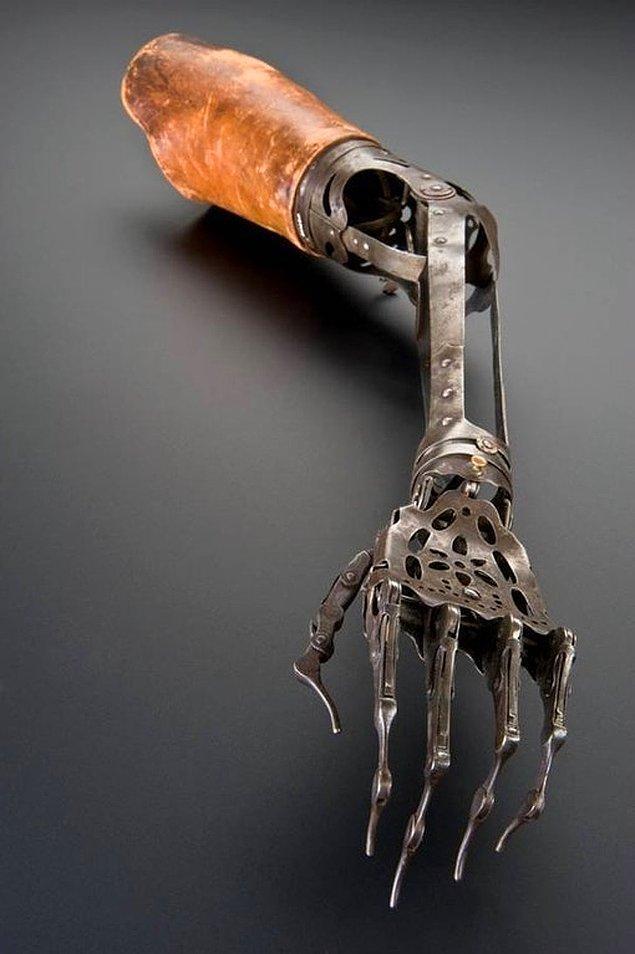 19. 150 yıllık kol protezi...