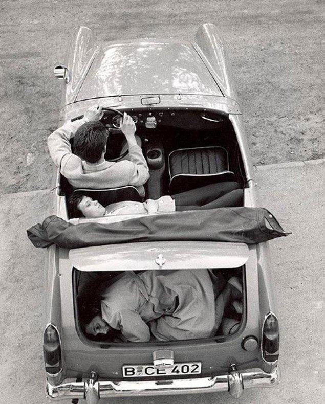 Doğu Berlin'den cesaretli bir kaçış, 1963.