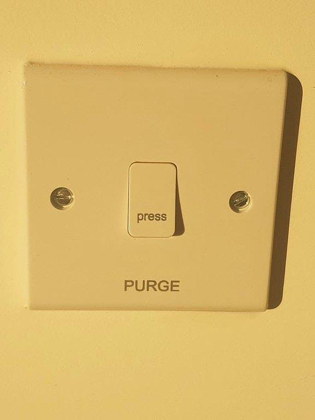 3. Evet arkadaşımın apartmanında gerçekten böyle bir düğme var.