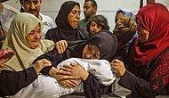 Gazze'de Öldürülmüştü: Leyla Bebek Son Yolculuğuna Uğurlandı