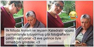 Annesi ve Teyzesini Katedralin Ucunu Parmaklarıyla Tutuyormuş Gibi Fotoğraflarını Çekerken Acımasızca Trolleyen Türk