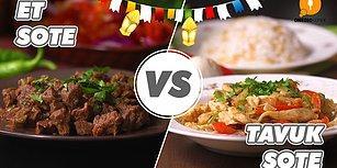 Her Hali Lezzetli Sote, Peki Sizin Seçiminiz Hangisi? Et vs Tavuk Sote Nasıl Yapılır?