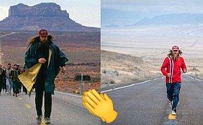 Forrest Gump Filminin Efsane Koşu Sahnesini Gerçek Hayatta Canlandıran Adam ve Herkese İlham Olacak Hikayesi!