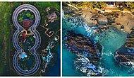 Şehirleri Kuş Bakışı Fotoğraflayan Sanatçıdan Birbirinden Etkileyici Görüntüler