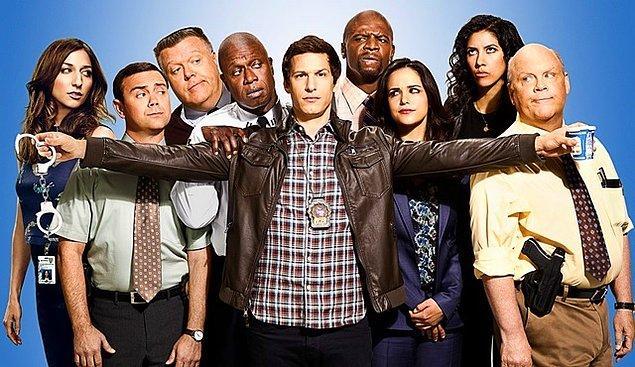 10. Brooklyn Nine-Nine - IMDb 8,3
