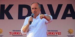 TRT O Anlarda Canlı Yayındaydı: Muharrem İnce'den 'Vergimi Haram Ediyorum' Tepkisi