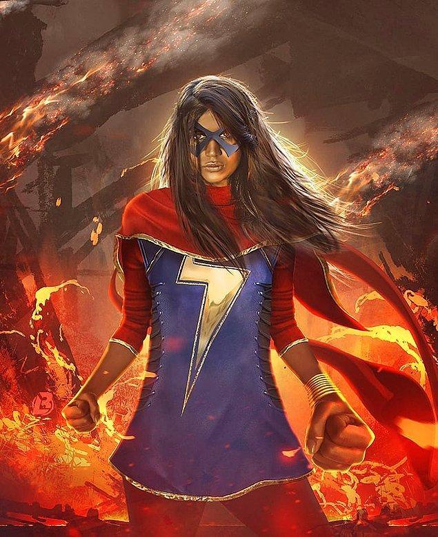 7. Ayrıca Captain Marvel filminden sonra MCU'ya Marvel'ın Müslüman süper kahramanı Ms. Marvel'ı getirme planları yapılıyor.