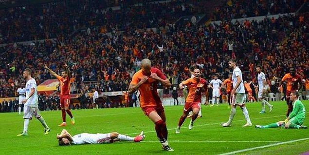 7. Hafta: Galatasaray 3-2 Karabükspor