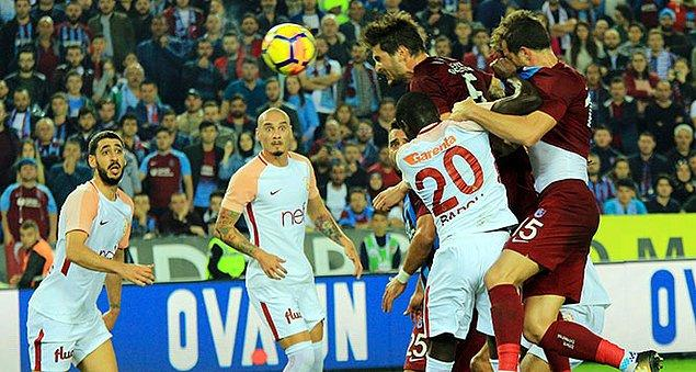 10. Hafta: Trabzonspor 2-1 Galatasaray