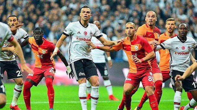 14. Hafta: Beşiktaş 3-0 Galatasaray