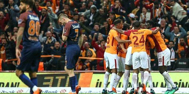 29. Hafta: Galatasaray 2-0 Başakşehir