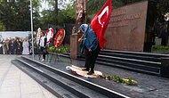 Çorlu'da Bir Garip Tepki: Atatürk Büstüne Bırakılan CHP ve HDP Çelenkleri Parçalandı