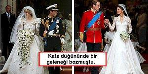 İngiltere'nin Ünlü Kraliyet Düğünleri ile İlgili Daha Önce Hiç Duymadığınız 16 Bilgi