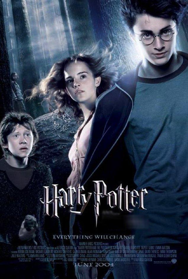 1. Harry Potter'cılar buraya. Afişi verilen hangi film?