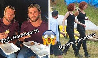 Marvel Oyuncularını ve Dublörlerini Daha Önce Hiç Yan Yana Görmüş müydünüz?