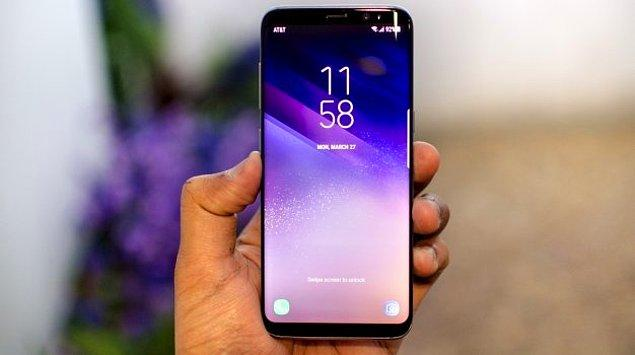 9. Samsung Galaxy S8 SAR Değerleri