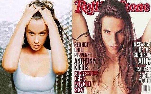 5. Alanis Morissette ve Anthony Kiedis
