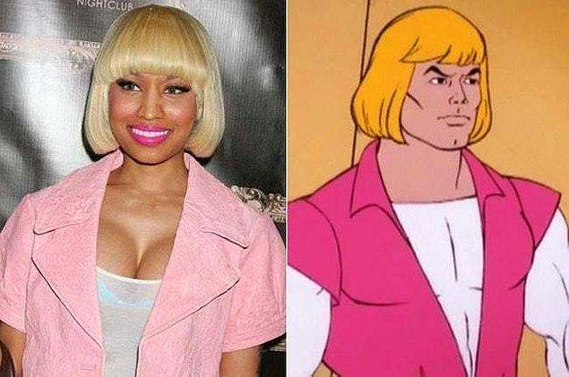 9. Nicki Minaj ve He-Man