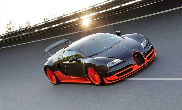 3. Bugatti Veyron Super Sport (431.3 kms)