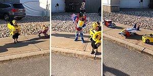 Dünyayı Çocuklar Yönetsin! Transformers'a Dönüşen Çocukların Muhteşem Görüntüleri