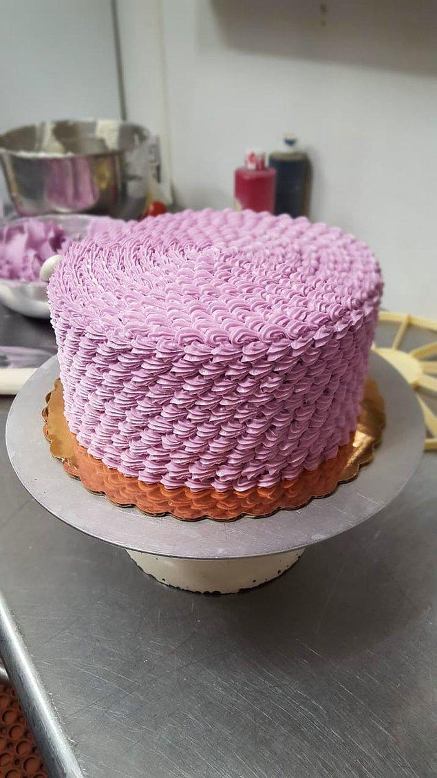 17. Görsel bir şölene imza atan harika bir pasta. 😍