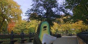 Diğer Yarısını Arayan Yalnız Avokadonun Tatlı Hikayesini Anlatan Kısa Animasyon: The Pits
