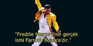 Rock Müziğin Efsane İsmi Freddie Mercury Hakkında Bilinmeyen Gerçekler