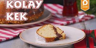 Bir Dilim Yiyenin Bir Daha İsteyeceği Kolay Kek Nasıl Yapılır?