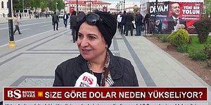 Sivas Halkı Cevapladı: 'Sizce Dolar Neden Yükseliyor?'