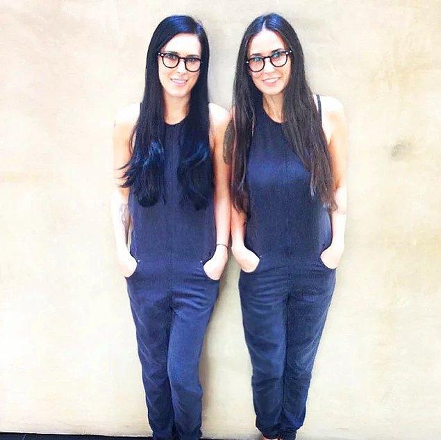 18. Demi Moore ve kızı Rumer Willis