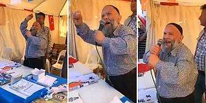 AKP Seçim Standında Halka Seslenen 'Laiklik Elden Gidiyor' Sözleriyle Fenomen Süleyman Çakır