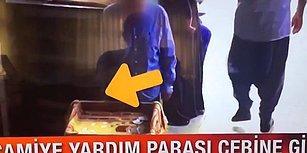 Adana'da Camiye Yardım Parasından 100 TL Tırtıklayan Görevli