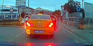 Sarı Taksicinin Neden Yol Verdin Kavgası: 'Herkese Yol Mu Verilir?'