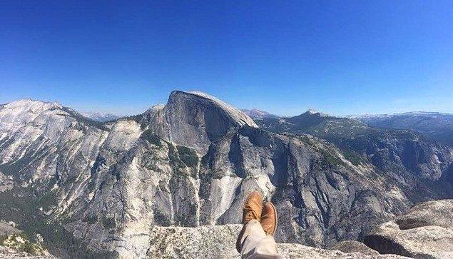 13. Bu fotoğraf bir tırmanıcının telefonundaki son fotoğraftı.