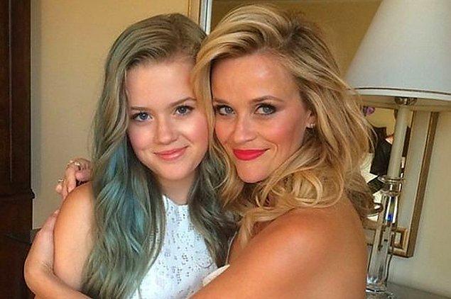 21. Reese Witherspoon ve kızı Ava