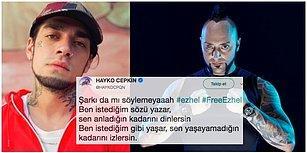 Şarkılarıyla 'Uyuşturucu Kullanımını Özendirmek' Suçundan Tutuklanan Ezhel'e Ünlülerden Destek Var!
