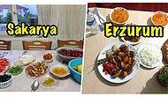 Ramazan Her Yerde! Yurdun Dört Bir Yanından İftar Sofrasının Fotoğrafını Çekip Bize Gönderen Takipçilerimiz