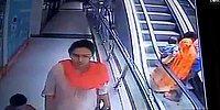 Selfie Uğruna Kucağındaki Çocuğunu Yürüyen Merdivenlerden Aşağıya Düşüren Anne